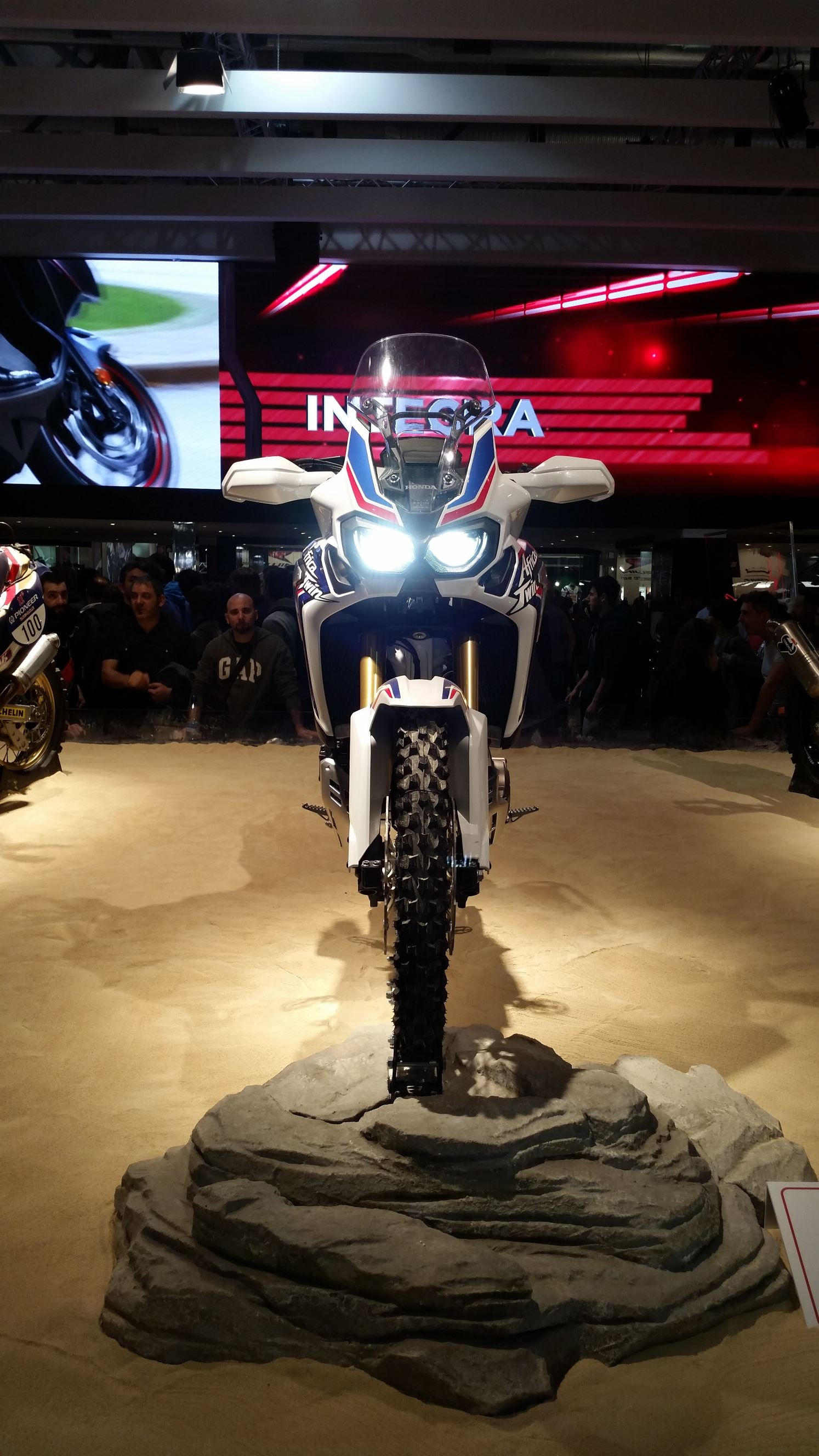 Honda Africa Twin CRF 1000L 2015