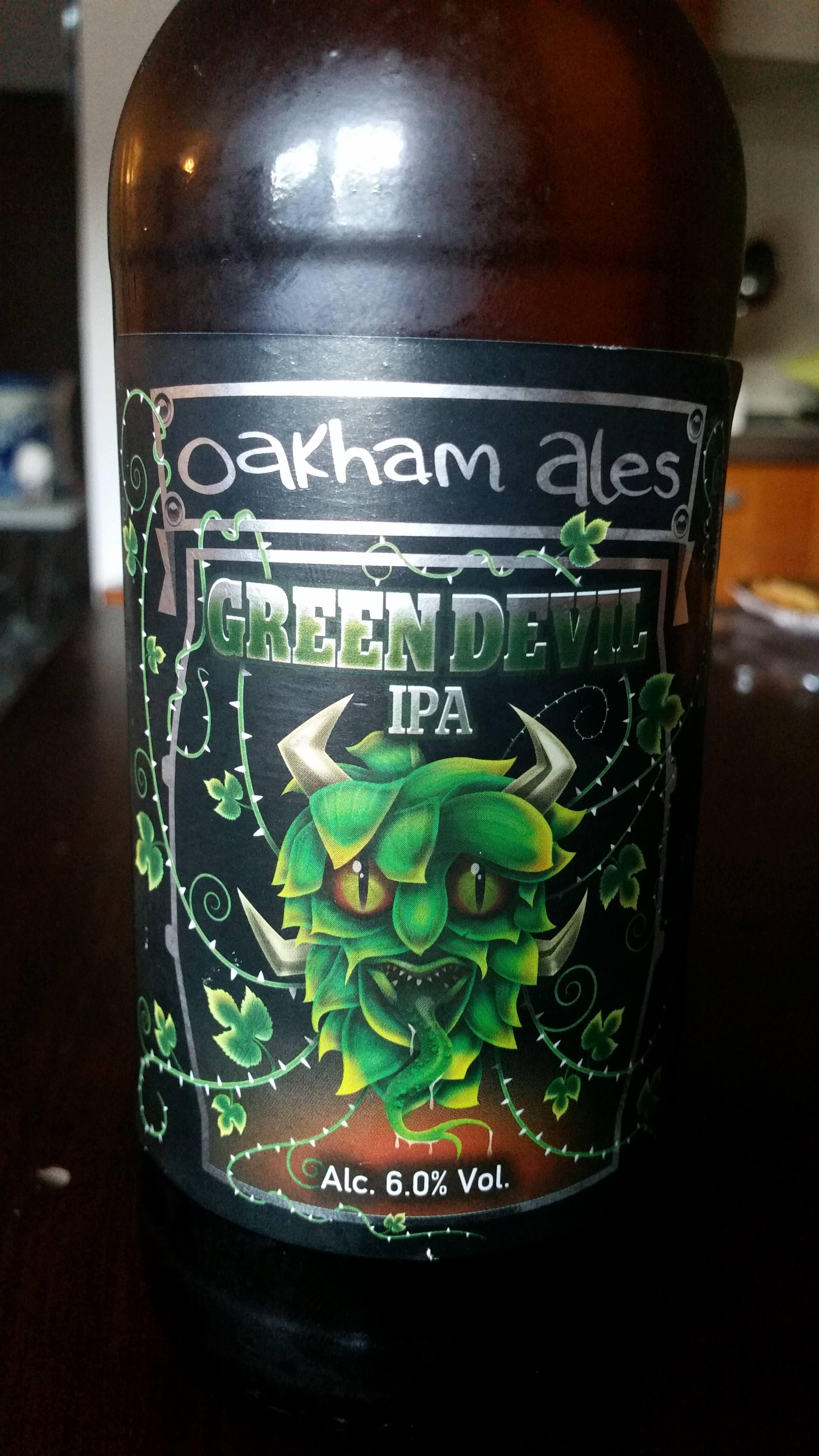 Oakham Ales - Green Devil IPA - 6.0% A.B.V.