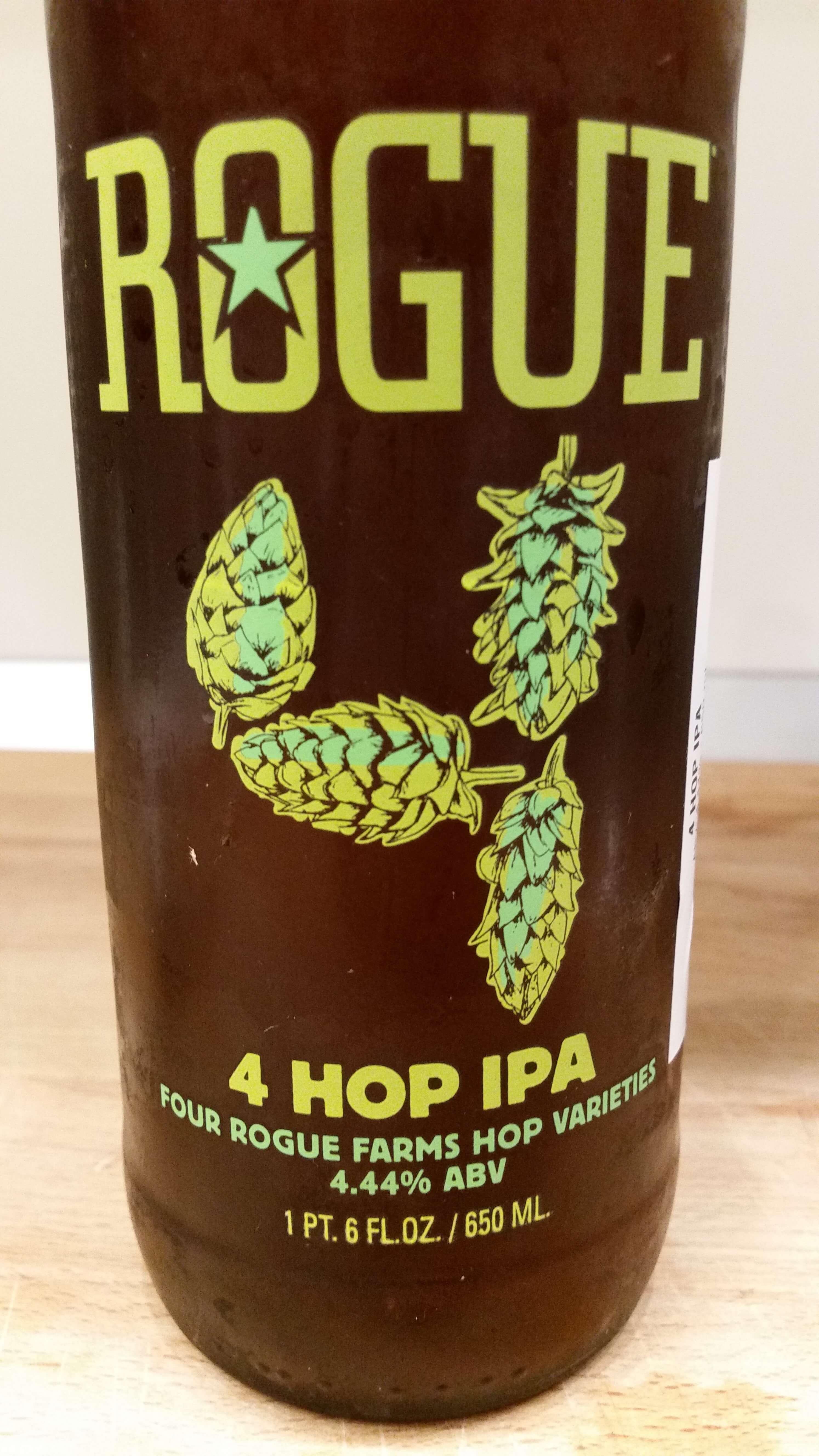 Rogue Farms 4 Hop IPA, Rogue Ales