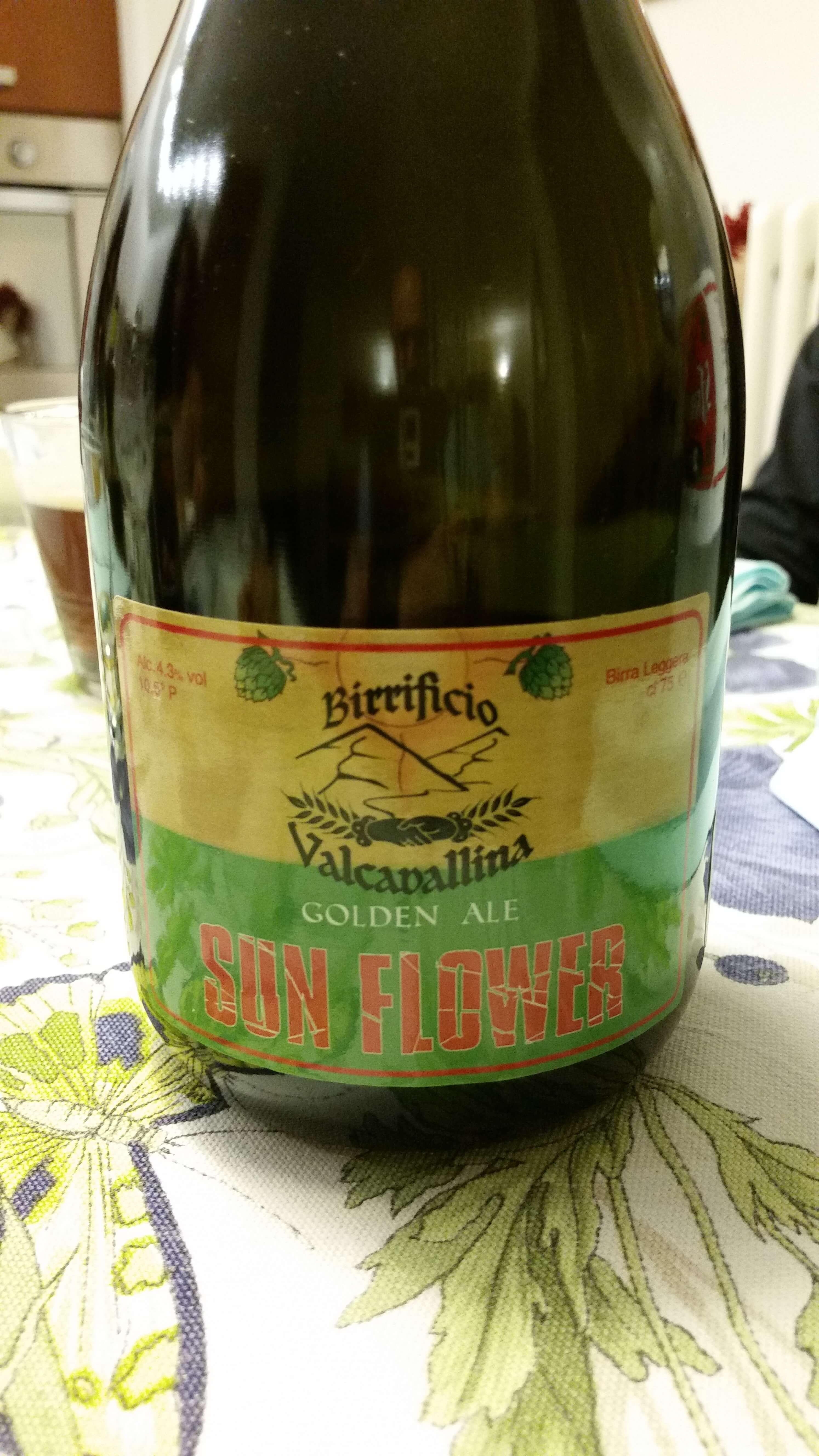 Sun Flower Golden Ale, Birrificio Valcavallina