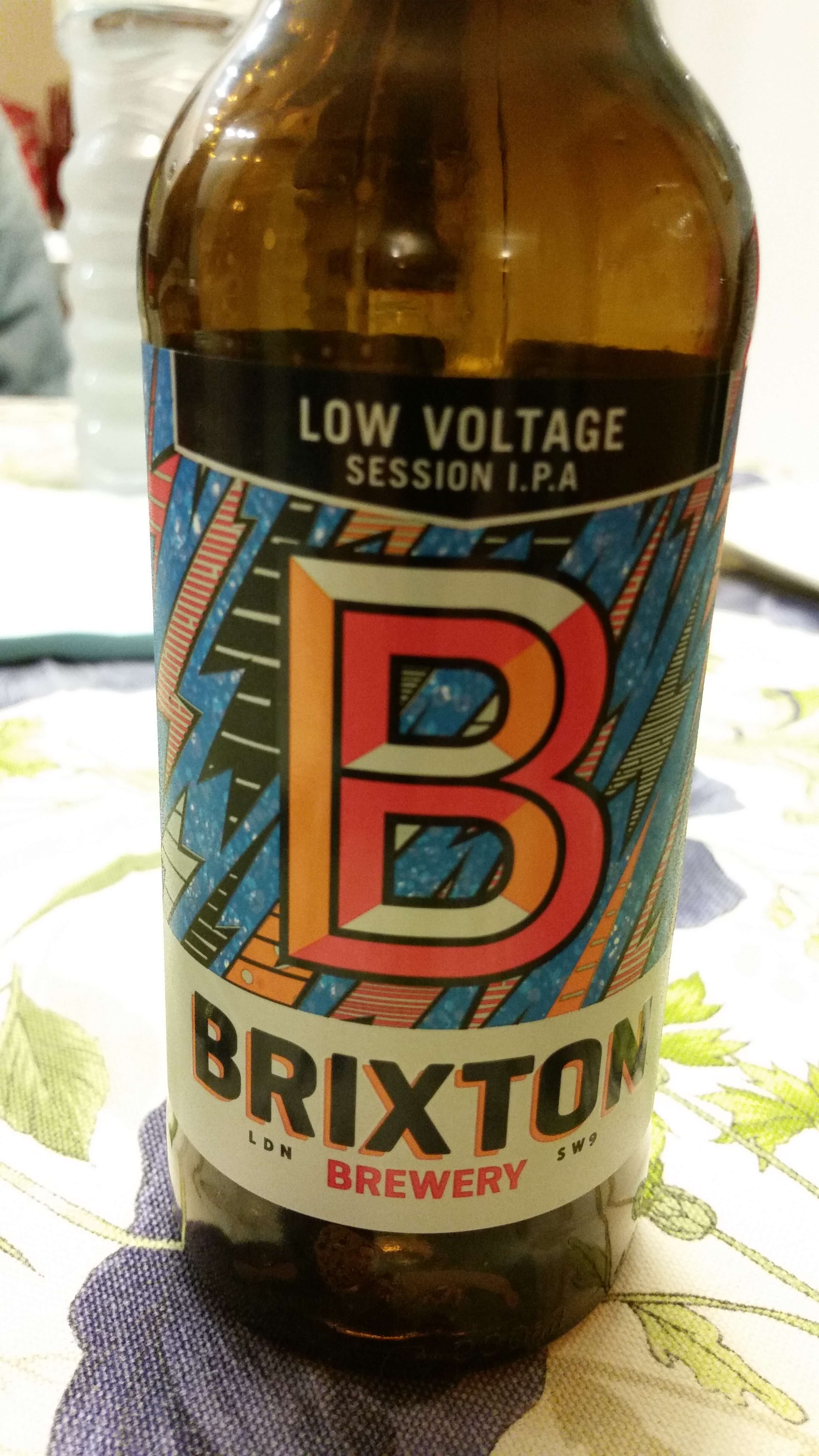 Low Voltage Session IPA, Brixton Brewery