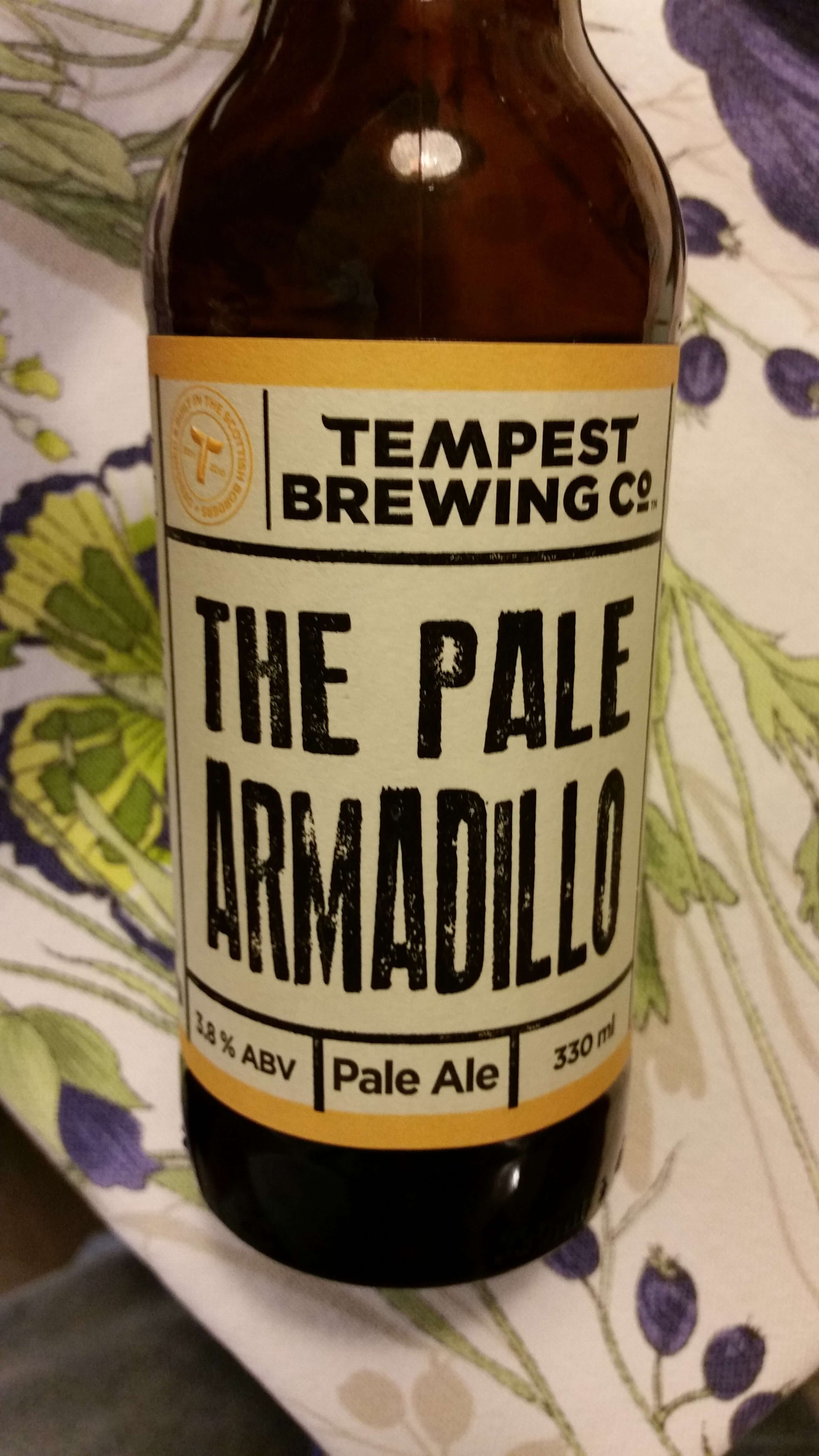 The Pale Armadillo - Pale Ale, Tempest Brew Co