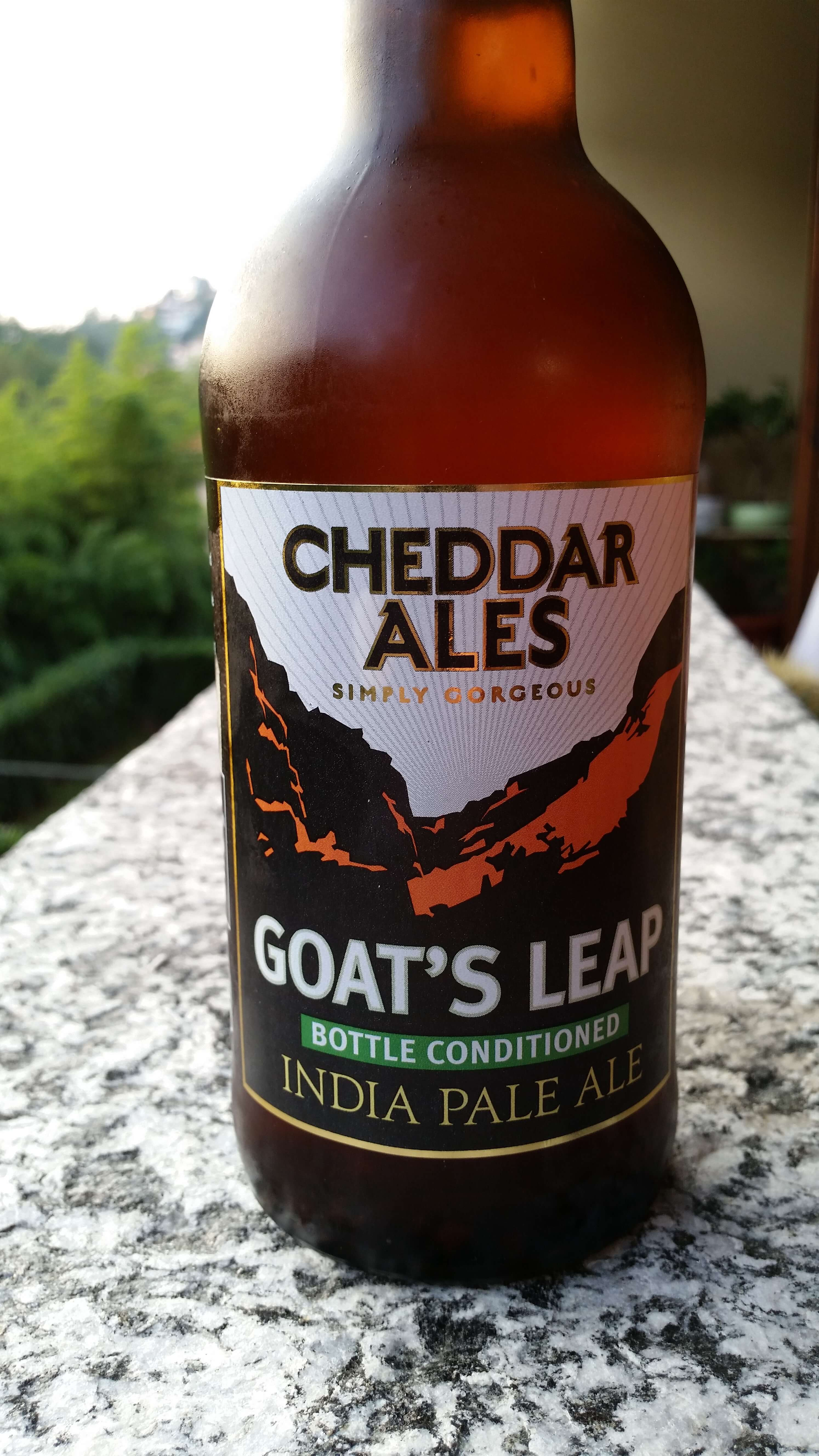 Goat's Leap IPA, Cheddar Ales