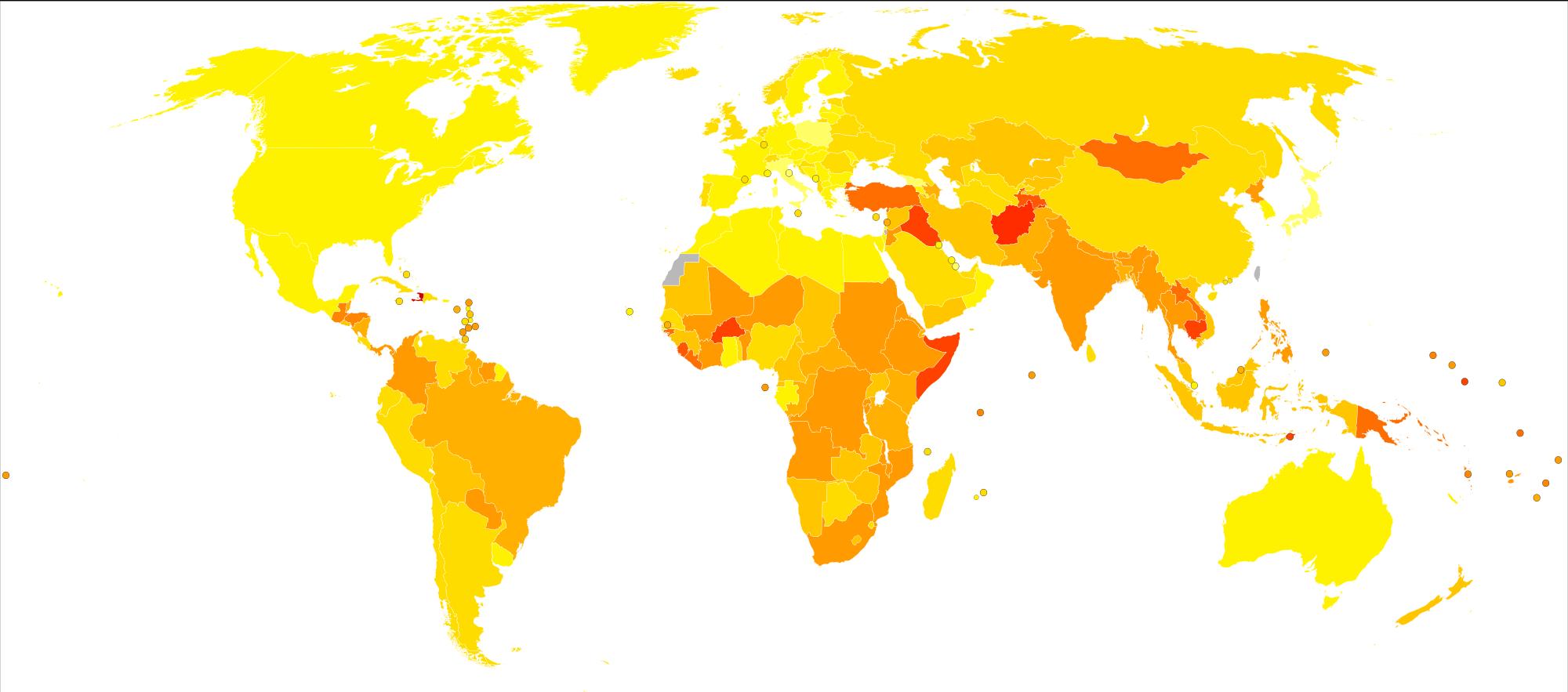 mappa meningite