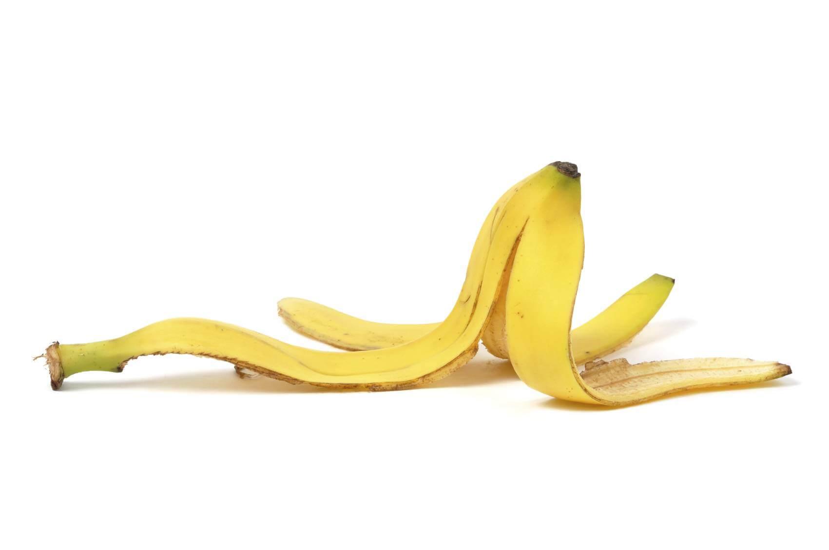 Tutti gli utilizzi della buccia di banana