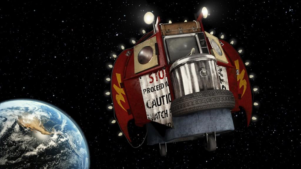 Explorers film anni 80 fantascienza navicella