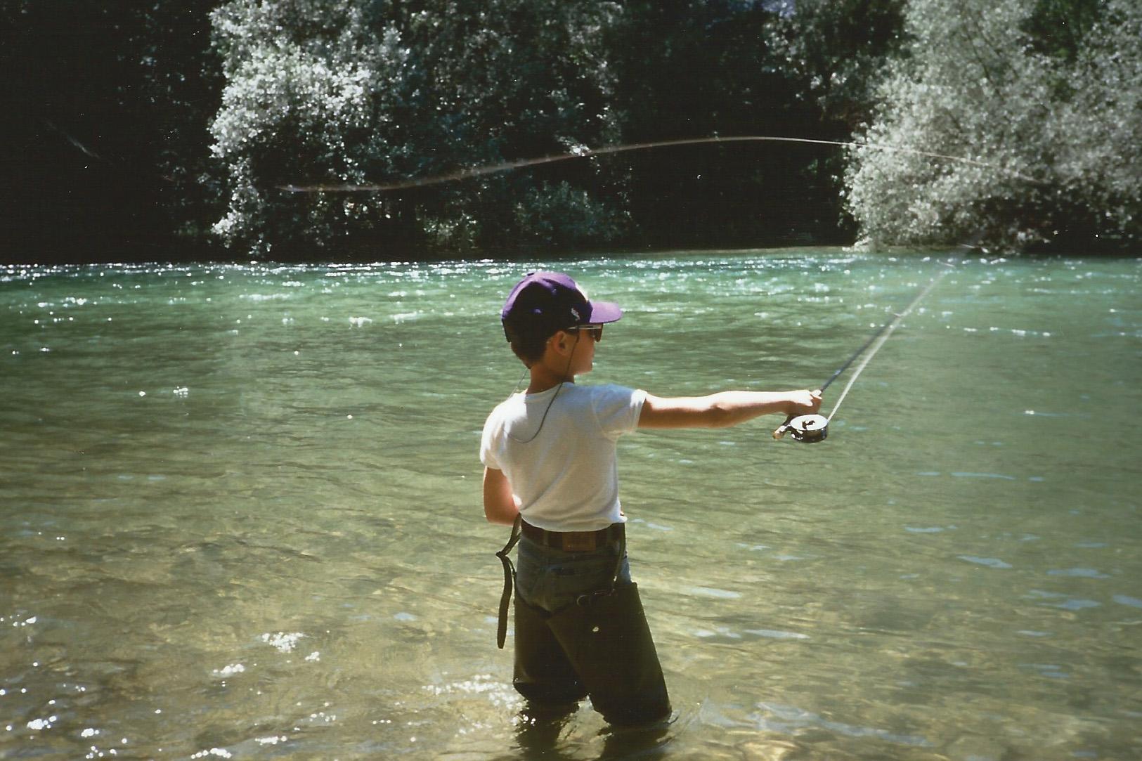 Pesca mosca Fiume Sava