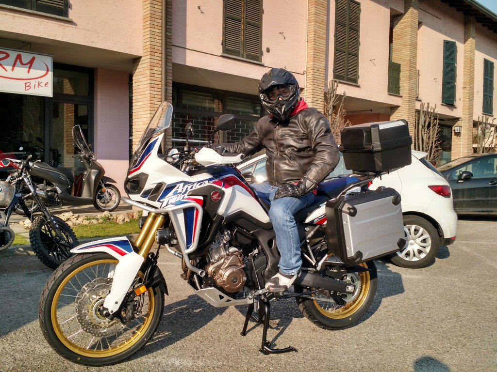 Honda CRF 1000L AfricaTwin 2016 Travel Edition