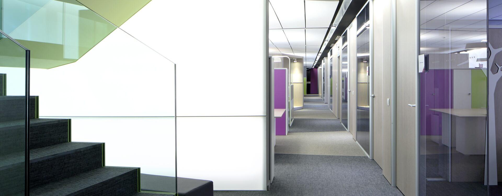 Arredare ufficio con le pareti divisorie mobili