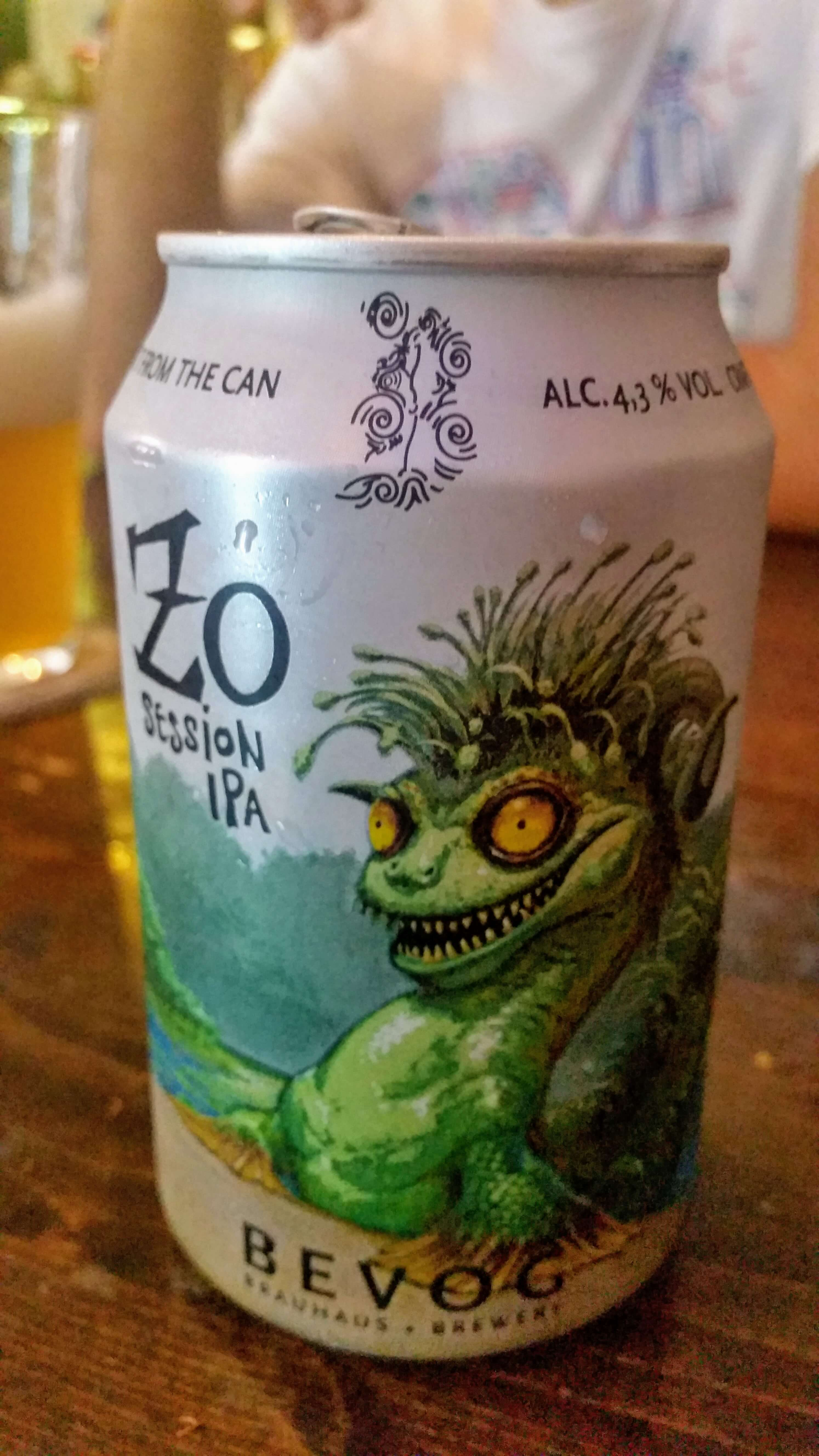Bevog Zo Session IPA