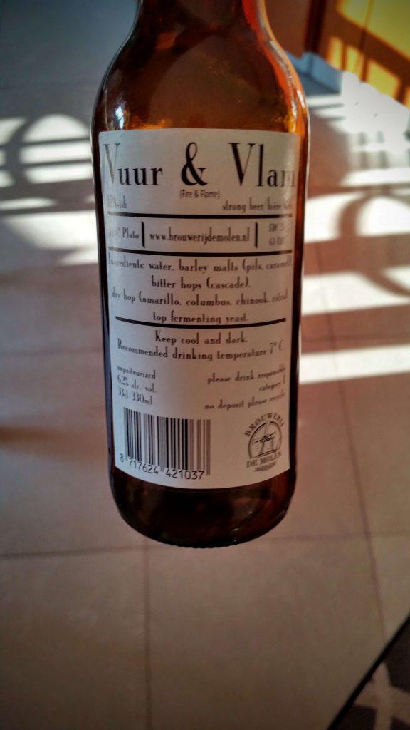 Brouwerijdemolen Vuur & Vlam Pale Ale-ish
