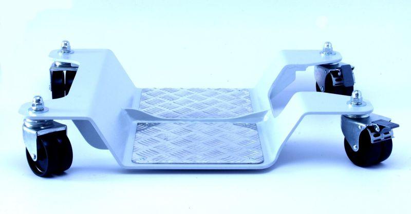 Carrello sposta moto capacità di carico max 400 kg