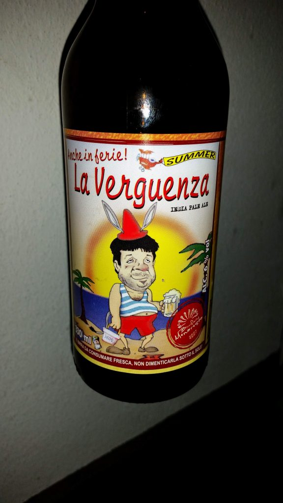Menaresta 22 La Verguenza Summer IPA