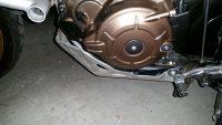 Perdita olio coperchio carter rotto CRF1000 Africa Twin 2016