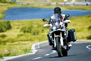 Prova casco cross carbonio