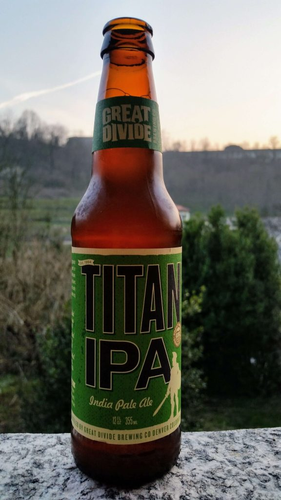 Titan IPA Great Divide Brewing Company